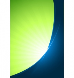 Green business template vector