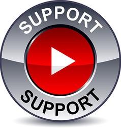 Support round button vector