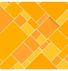 Orange rectangular structured background vector
