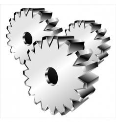 3d gears vector