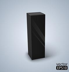Package black box design vector