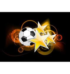Football stars vector