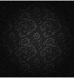 Floral filigree background vector