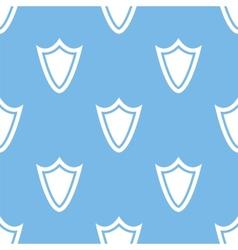 Shield seamless pattern vector