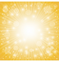 Yellow ray background vector