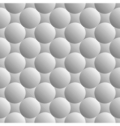 Design seamless monochrome sphere pattern vector