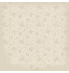 Old ornamental paper background vector
