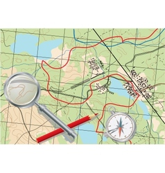 Map of trip vector