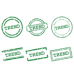 Trend stamps vector