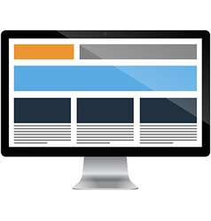 Responsive grid layout vector