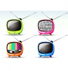 Cute television vector