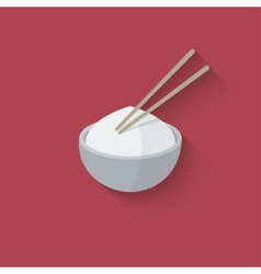 Asian food design element vector