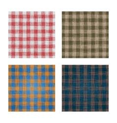 Set of linen backgrounds vector