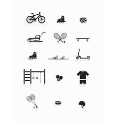 Sporting goods vector