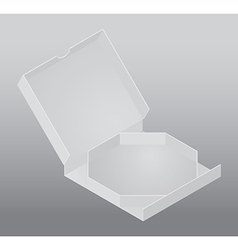 Blank packing box vector
