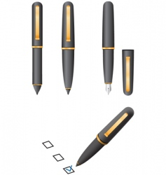 Object pen vector