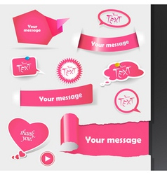 Label stickers vector