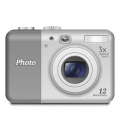 Digital compact camera vector
