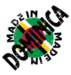 Made in dominica vector