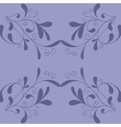 Seamless pattern with curls vector