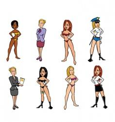 Sexy women vector