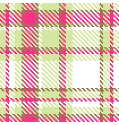 Seamless checkered color pattern vector