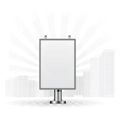 City light board vector
