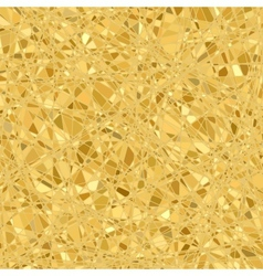 Gold mosaic background vector