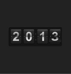 Countdown counter vector