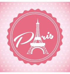 Paris city vector