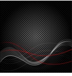 Abstract black texture background vector
