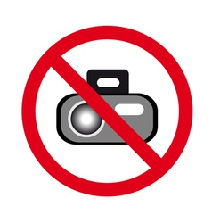 Forbidden photos vector