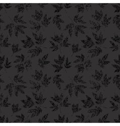 Light grunge floral seamless vector