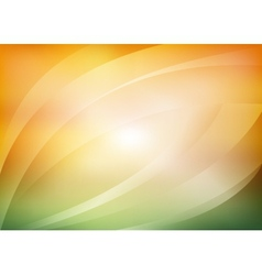 Green and orange background vector