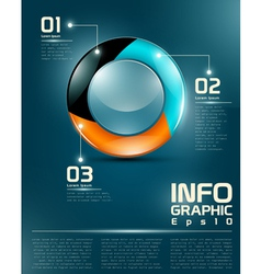 Infographic ui elements vector