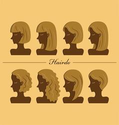 Hairdo vector