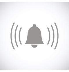 Alarmclock black icon vector