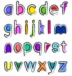 Small alphabet vector
