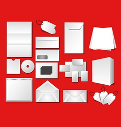 Corporate office templates vector