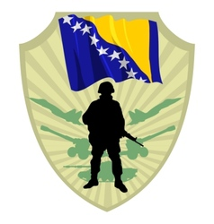 Army of bosnia and herzegovina vector