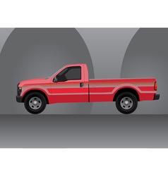 Pick-up truck vector