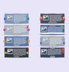 Tor banners vector