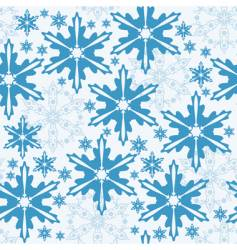 Winter seamless pattern vector