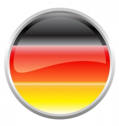 Federal republic of germany flag vector