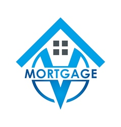 Real estate mortgage home construction company vector