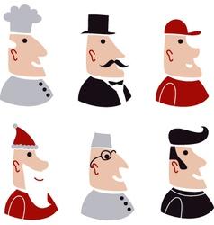 People in various vector