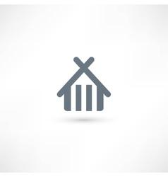 Home icon vector