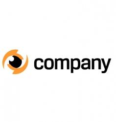 Photography eye logo vector