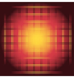Red and yellow chessboard or checkerboard backgrou vector