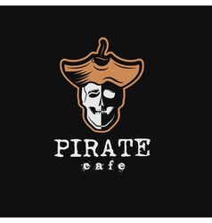 Pirate cafe vector